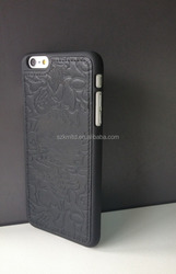 Excellent Stitching Genuine Leather Protective Phone Case For iPhone 6 Plus