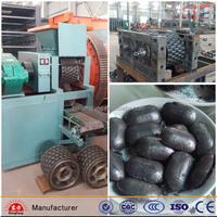 Professionl manufacture charcoal/coal briquette machine for pillow shape