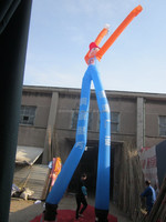 double leg giant dancing inflatable advertising air man on sale