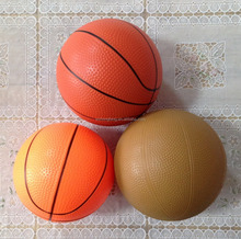Colorful PVC small basketball for Kids