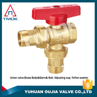 """inside brass ball valve 2"""" brass body with polishing and full port and PN 40 high temperature electric machine with 600 wog"""