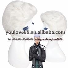 alibaba china yiwu city wholesale synthetic full lace wigs short white cosplay wig