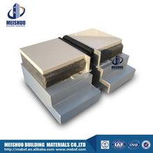 Tile floor joint rubber insert concrete expansion with aluminum base