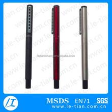 LT-Y1075 metal jotter roller personalized promotional pens no minimum order