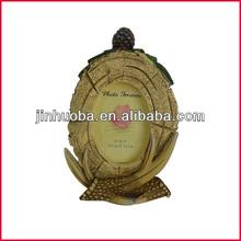 polyresin cuernos de venado de marco de fotos de la decoración