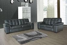 African Design Sectional furniture Sofa,antique wood furniture Corner Sofa,sofa set bonded leather H969