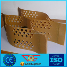 Plastic reinforced hdpe geocell for road construction