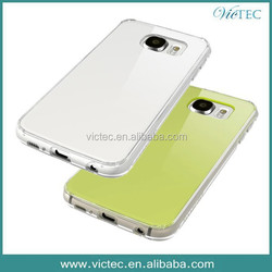Double Colors TPU+ PC Custom Phone Cover for Samsung GALAXY S6