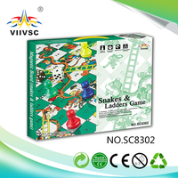 Main product top sale monopoly board game maker from China snakes&ladders