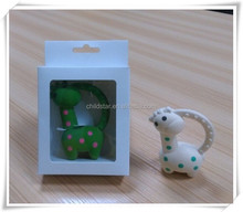 New Design Giraffe Teether Baby Teether rattle teether toys