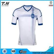 hot sales custom made short sleeve soccer wear