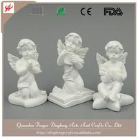 European Beauty Resin Angel White Angel Kids Dress