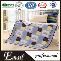 Fantasy car printed baby crib patchwork bedding set/baby cot sheet sets