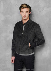 New design suede motorcycle leather jackets