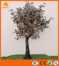 Fashion Black Lighted Maple Tree For Event Decoration
