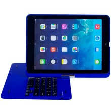 2015 hot selling 360 swivel bluetooth Keyboard with protect cover for iPad Air