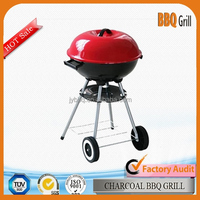 18.5Inch Outdoor porcelain enamel paint bbq grill for sale