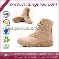 High quality rubber sole men's outdoor tactical Desert Military Boots