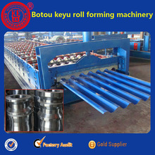 KY-750 Fully automatic roofing sheet roll forming machine, Big corrugated making machine