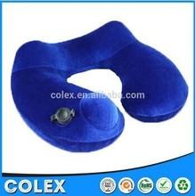 Wholesale air filled u-shape neck pillow