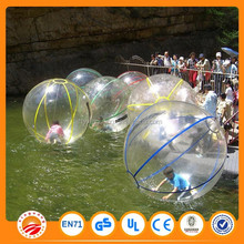 Fantastic walking on water sports transparent water walking ball for sale