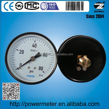 3 inch pressure gauge steel case back connection 80 psi power brand or customized