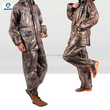 Corrosion and cold resistant rain coat /rainsuit/rainwear with inner pocket