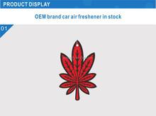 paper car air freshener/Custom logo Car Air Freshener any scents/customized air freshener