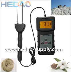 Electrical Resistance Method digital cotton moisture meter