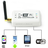 Wifi Wireless RGB LED Strip Controller for iOS iPhone iPad Android Smartphone Tablet wifi rgb controller