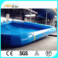 CILE Durable Air Filled Pool Table for Adult and Kids Doing Water Sport