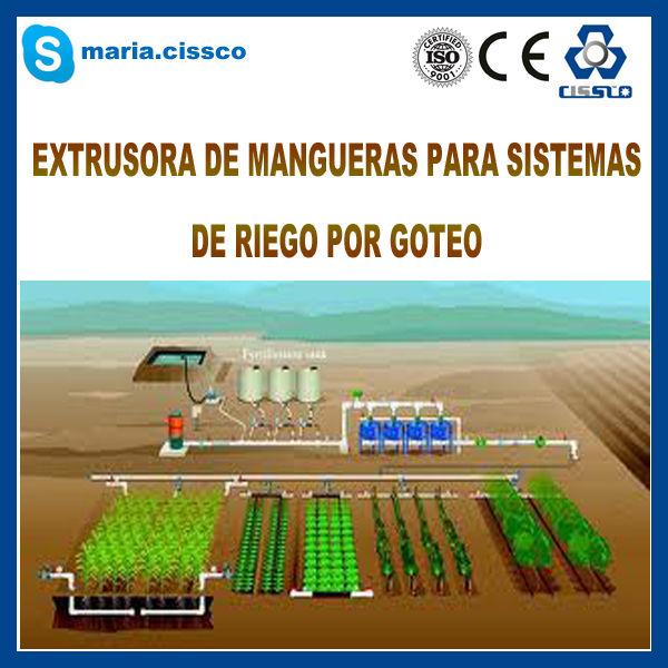Mejor tecnologia en produccion de mangueras de riego por - Manguera para riego por goteo ...
