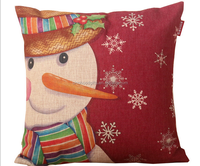 2015 China factories alibaba fashion selling well newly designed girl 100% cotton sofa decorative christmas design cushion cover