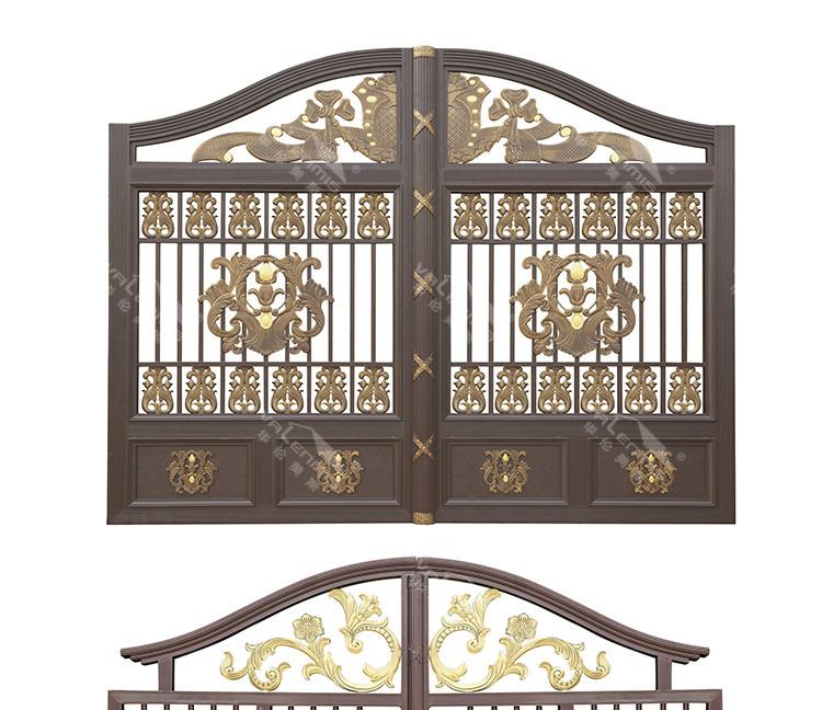 2015 New Latest Aluminum Gate Designs Buy Filming Amine