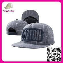 Hot Custom 5 Panel 2 Tone Blank Snapback Caps/Hats/Plain Snapback Cap