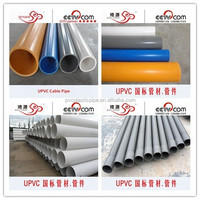 ISO DIN Standard 16 Inch PVC Pipe And PVC Pipe Fittings Made In China Manufacturer For Sale