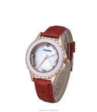 Gold case crystal vintage quartz watch armitron watches