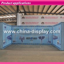 Hot Selling Aluminum Tension Fabric Display Pop Up Stand Supplier