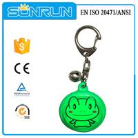 promotion plastic keychain photo holder