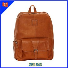 "15"" Leather Laptop Backpack School Backpack Cute Travel Backpack"
