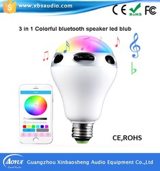 Hot Attractive Gift, Pa System Indoor Heart Bluetooth Speaker LED Light APP Control