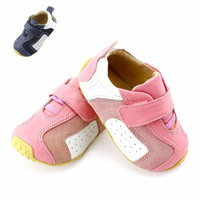 2015 New style from shanghai baby factory original leather shoes