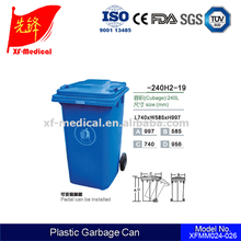 wholesale large Outdoor plastic Recycling Waste Bin