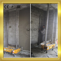 China brand names for cement wall rendering machine export India