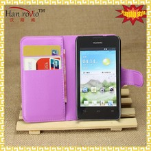 For Huawei Ascend Y330 pu leather phone case, shenzhen phone case for Huawei Ascend Y330