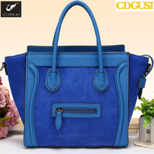 Hot Sale Women Fashion Smile Handbag Nubuck Leather Messenger Bags Classic Casual Desigual Shoulder Bag