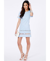 Ladies Office Formal New Design Summer Casual Women Cheap Price Modern Girls Club Wear Sexy Party Dress
