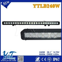 39.1Inch 240Watt Single Row 24 Pieces 5W LEDs Work Light Light Bar White For 4x4 Off-Road SUV 4wd Vehicle Ship