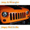 Jeep Wrangler Grill Angry - Bird Grille From Lietuvo Auto