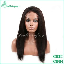 china wholesale price lace front wig unprocessed human hair lace front wig
